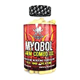MYOBOL por Warrior Labs, Ganancia muscular máxima, 90 Caps