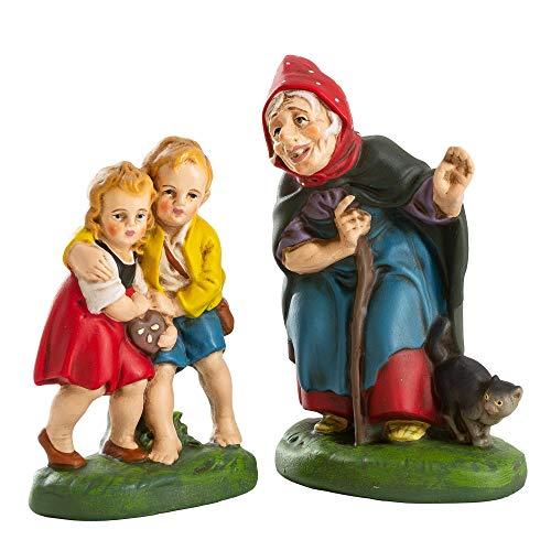 MAROLIN Hänsel & Gretel mit Hexe (Märchenfiguren)