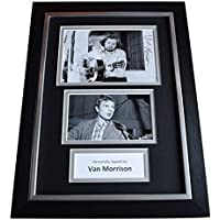 Sportagraphs Van 'The Man' Morrison Signed A4 FRAMED Autograph Photo Display Music AFTAL COA Perfect GIFT