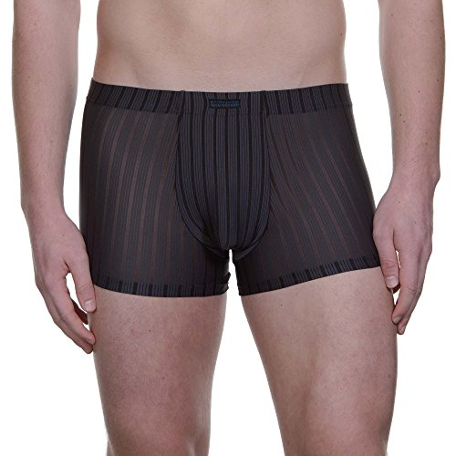 Bruno Banani Herren Short Hallucination, Grau (Anthrazit Stripes 406), Large