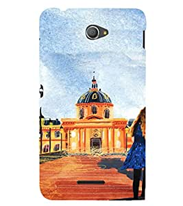 EPICCASE Royal Palace Mobile Back Case Cover For Sony Xperia E4 (Designer Case)