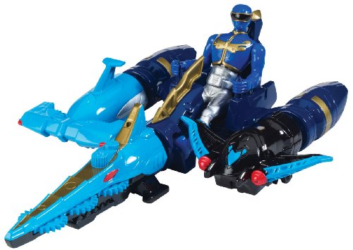 rce Sea Brothers Zord Vehicle and Blue Ranger ()