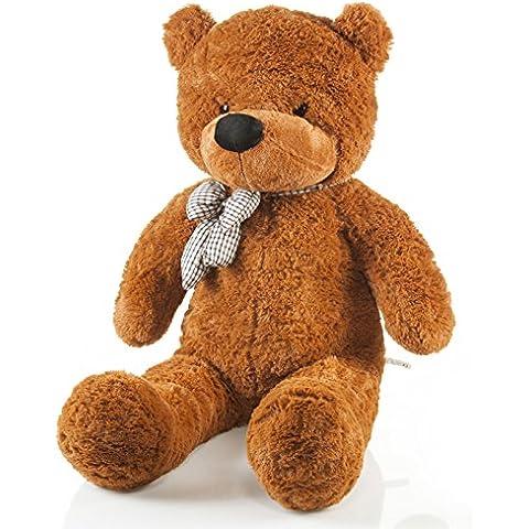 Fortuna oso de peluche oso de peluche XXL 120cm Grande Oso de peluche oso de peluche con lazo–Original