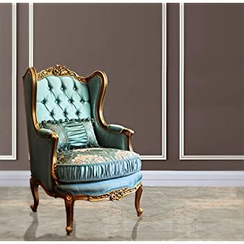 Tremendous French Duck Egg Blue Gold Leaf Louis Xv French Reproduction Machost Co Dining Chair Design Ideas Machostcouk