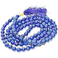 Mala - Lapis lazuli Diamond Cut Gemstone Bead 8 mm Chakra Balancing Reiki Healing Stone preisvergleich bei billige-tabletten.eu