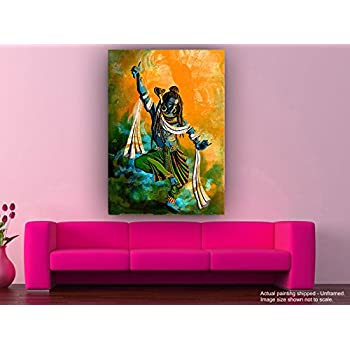 Tamatina Canvas Paintings - Jai Shiva Shankar - Mahadev Paintings ...