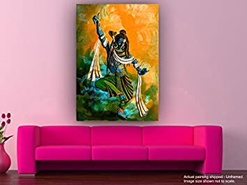 Living Room Paintings.  Shiva Tandava II Lord Paintings Parvati Wall for Home D cor Bedroom Living Room Tamatina Canvas