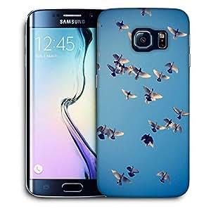Snoogg Ubuntu Birds Printed Protective Phone Back Case Cover For Samsung Galaxy S6 EDGE / S IIIIII