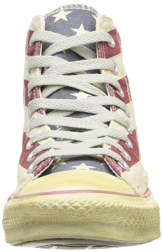 Converse Stars and Bars Vintage, Baskets mode homme Mehrfarbig - Multicolore (Blanc/Bleu/Rouge 03)