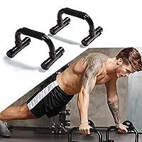 CONCEPTION AMOVIBLE - Cette barre de support push-up a une conception détachable qui est facile à démonter ou à assembler et peut être transportée à la maison ou en voyage d'affaires afin que vous puissiez continuer à faire de l'exercice tous les ...