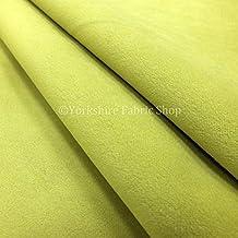 Tela para tapizar ideal para sillas, sofás o cortinas con tejido aterciopelado, color verde