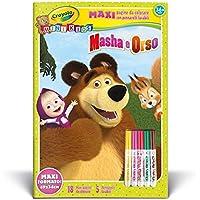 Crayola Masha e Orso Maxi Album con Colori