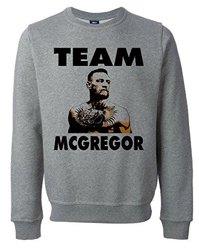 Team Conor McGregor UFC Fan Art Unisex Maglione Felpa XX-Large