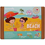 #2: JackInTheBox - Craft toy for girls - A day at the Beach 3-in-1 Craft Kit - Great gift for girls ages 5 to 8 years