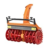 BRUDER - 02349 - Souffleuse à neige - Orange