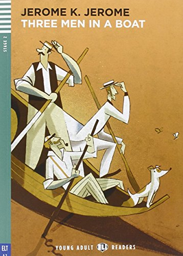 Young Adult Eli Readers - English: Three Men in a Boat + CD