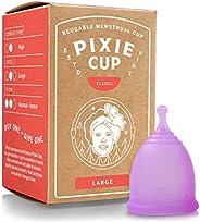 Pixie Menstrual Cup Classificato 1 per più confortevole mestruale Cup e meglio Stem rimozione di tutte le altr