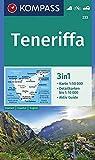 Teneriffa: 3in1 Wanderkarte 1:50000 mit Aktiv Guide und Detailkarten. Fahrradfahren. Autokarte. (KOMPASS-Wanderkarten, Band 233)