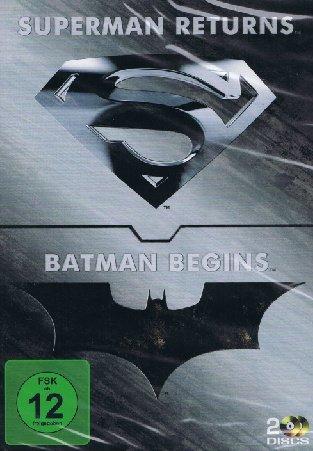 Bild von Superman Returns / Batman Begins - 2 Disc Double Feature
