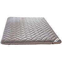 ASDFGH Tradicional Japonés Suelo colchones futon Colchón Tatami, Portátil Colchón Plegable 4 d Respirable Futon