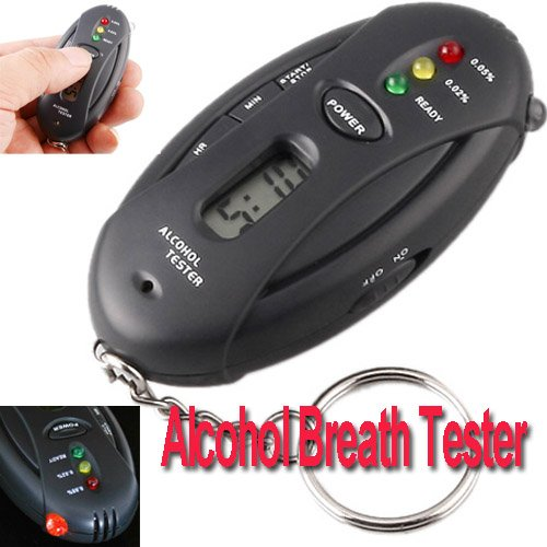Preisvergleich Produktbild pligh (TM) Sunwin GTS Polizei Digital LCD Atem Alkohol Tester Akku Die Alkoholtest Parking KFZ Detektor Gadget Gadgets Meter