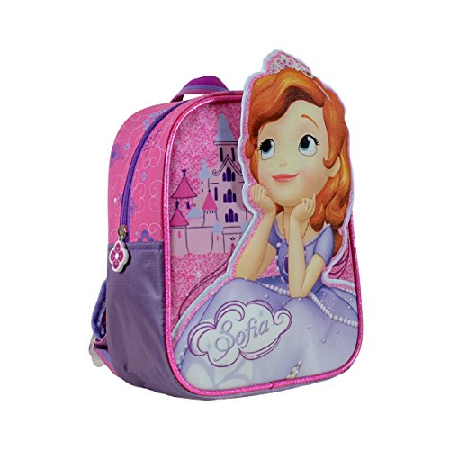 Sofia-the-First-Mochila-24-cm-Color-Malva