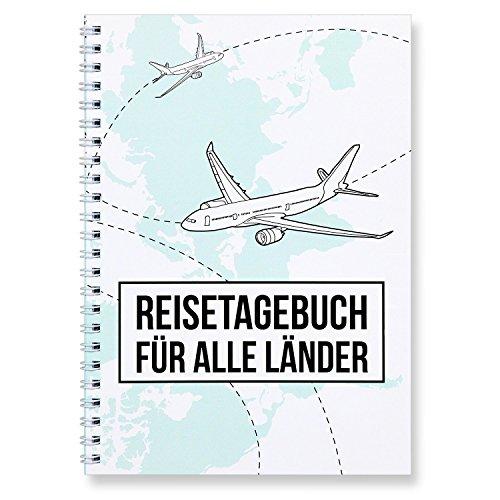 CUPCAKES & KISSES® Reisetagebuch zum selberschreiben / für alle Länder / interaktiv zum ausfüllen / mit spannenden Aufgaben / DIN A5 Ringbuch
