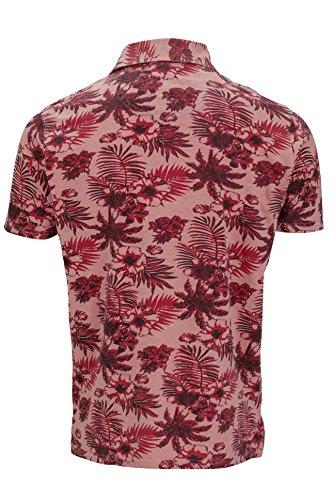 Kitaro Herren Poloshirt Lachsfarben