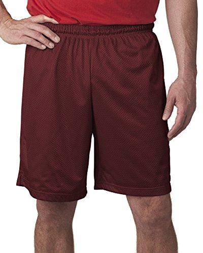 Champion Polyester Mesh Short 9 Maroon