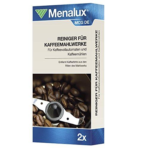 Menalux MCG DE Mahlwerkreiniger, 2 Reinigungen für Kaffeevollautomaten und Kaffeemühlen