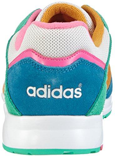adidas - Tech Super, Sneakers da Donna Multicolore (Mehrfarbig (Solo Mint F14-St / Hero Blue F13 / Neon Pink))