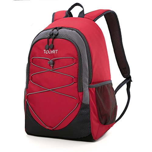 TOURIT Cool Bag Rucksack Cooler Bags Backpack Lightweight Large Capacity 25L for Picnics, Camping, Hiking 28 Cans