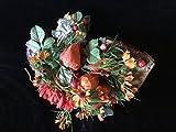 Herbstlich dekoriertes Ahornblatt für Wand oder Tür