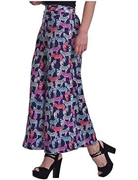 Indian Handicrfats Export DARZI Flared Women's Multicolor Trousers