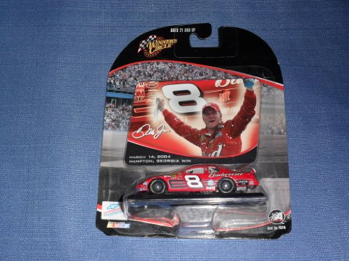 Dale Earnhardt Hampton GA Win Budweiser 8 by Winners ()