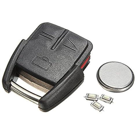 AUDEW 3 Boutons Télécommande Coque Cle Remplacement pour Vauxhall Opel Vectra Omega