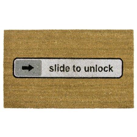 Preisvergleich Produktbild Fußmatte Slide to unlock