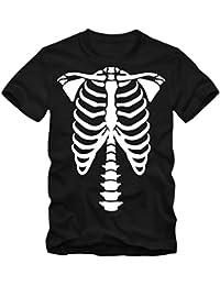 1df7683d00f3 Shirtastic Herren T-Shirt Halloween Skelett Bones Party Shirt Tee XS-3XL Neu