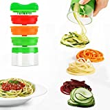 Best Spiralizers - MBLAI Spiralizer Legume 3 Lames Spirale Coupe Legumes Review