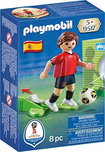 Playmobil Fútbol Jugador España, multicolor (9517)