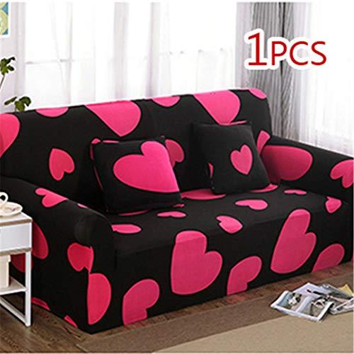 SHFOLSFH Inkjet-Muster elastische Stretch Universal Sofa Abdeckungen Schnitt Werfen Couch Ecke Cover Cases für Möbel Sessel Home Decor 11 Two seat Sofa -