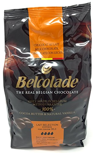 Belcolade 35% Lait Selection - Milk Couverture Chocolate (buttons) 1kg