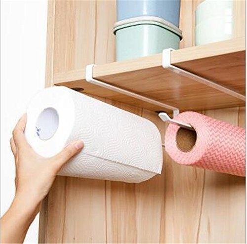 Bewegen und gratis perforiert Küche Papier Rollen Halter Kunststoff Untersetzer Küche Handtuch Rack Schrank Servietten Storage Rack Holder