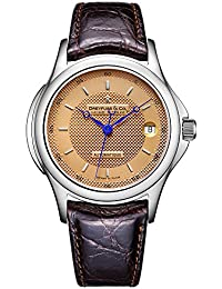 Dreyfuss Mens Automatic Watch, Analogue Classic Display and Leather Strap DGS00016/25
