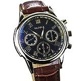 Relojes Hermosos, YAZOLE Hombre Reloj de Pulsera Cuarzo / PU Banda Cool Casual Negro Marrón Negro...