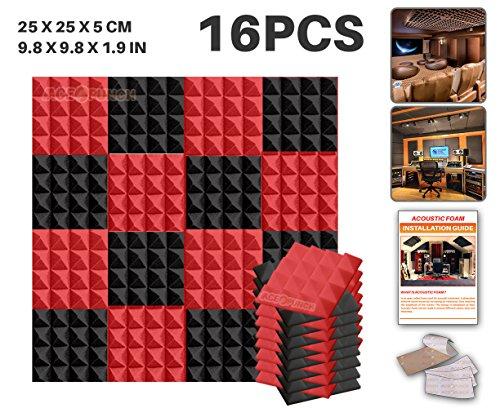 ace-punch-16-pezzi-piramide-schiuma-acustica-pannello-isolamento-acustico-diffusore-acustici-parete-
