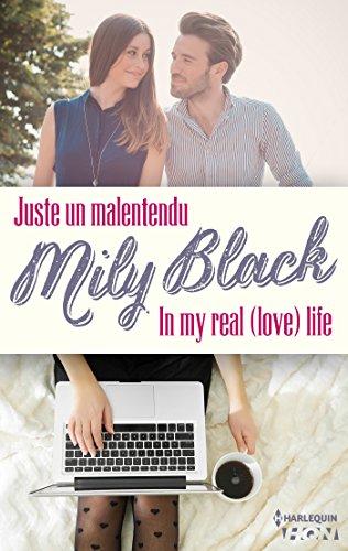 Coffret 2 romans de Mily Black : Juste un malentendu - In My real (Love) Life (HQN) par [Black, Mily]