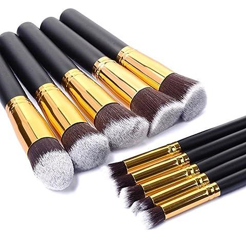 MP power @ 10PCS 10X Pinceaux de Maquillage professionnel Pro