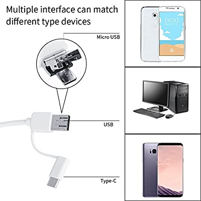 3-in-1 USB Ear Cleaning Endoscope HD Visual Ear Spoon Multifunctional Earpick Ear Cleaner