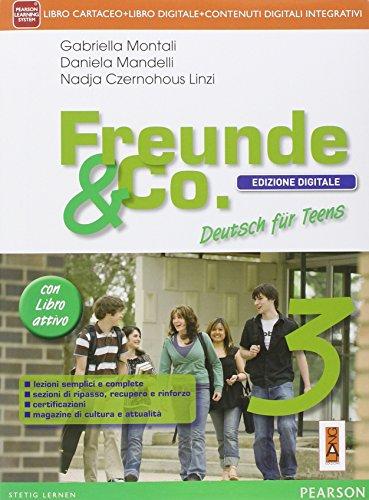 Freunde & co. Con fascicoloLIM. Per la Scuola media. Con CD Audio. Con e-book. Con espansione online. Con libro: 3
